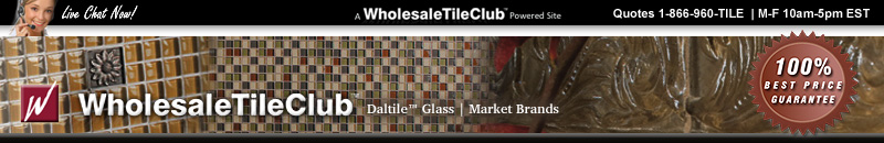 Daltile Glass Tile - Best Price at The Wholesale Tile Club